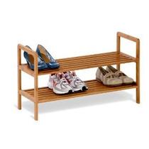 Miel-can-do Sho-01600 Bambú 2-tier Shoe Shelf