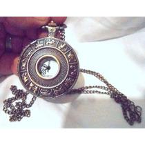 Reloj Dije De Colección Con Cadena Signos Del Zodiaco Remate