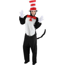 Disfraz De Cat In The Hat Para Adultos, Envio Gratis