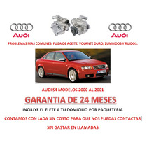 Bomba Licuadora Direccion Hidraulica P/ Caja Audi S4 Au1