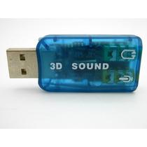 Adaptador De Sonido 3d Usb 5.1