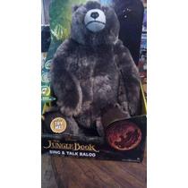 El Libro De La Selva Baloo Oso Habla Y Canta 31cms