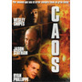 Dvd Caos ( Chaos ) - Tony Giglio /statham /phillippe /snipes