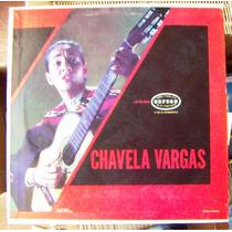Bolero, Chavela Vargas, Lp 12´,
