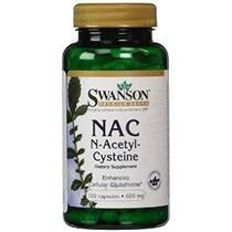 Nac N-acetil Cisteína 600 Mg 100 Caps