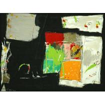 Gustavo Ramos Rivera Pintura Acrilico Composicion Abstracta
