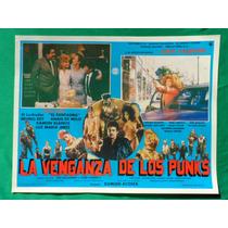 La Venganza De Los Punks Juan Valentin Sexy Topless Original