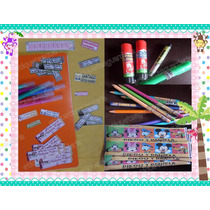 95 Etiquetas Escolares Cuadernos Lapices Libros Libreta