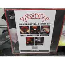 Krokus Box Set 5lps Importado Nuevo Sellado