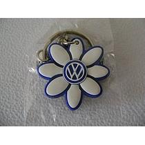 Vw Souvenirs Llavero Margarita Blanca