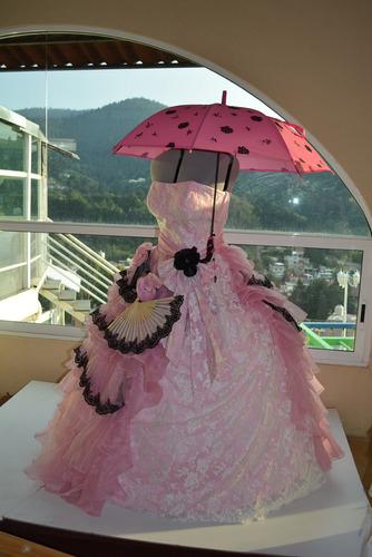 Vestido Xv Años Rosa Vintage O Epoca Accesorios Xl En Venta