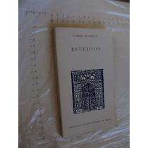 Libro Estudios , Gabino Barreda , Universidad Nacional Auton