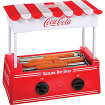 Maquina Con Rodillo Para Hot Dogs Coca Cola Series