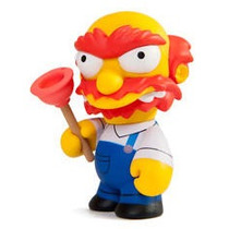 Kidrobot Serie Simpsons Willie Hm4