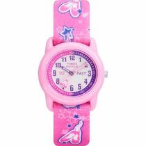 T7b151 Reloj Rosa Timex Para Niña Nuevo Blakhelmet Sp