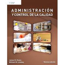 Libro Nuevo Administracion Y Control D La Calidad Edicion 9°