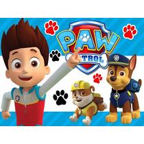 Kit Imprimible Paw Patrol, Patrulla De Cachorros, Fiesta