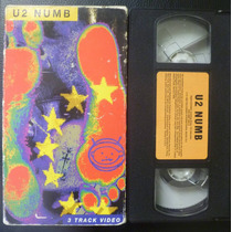 U2 Num Vhs 3 Videos Polygram (usa) 1993 Buen Estado