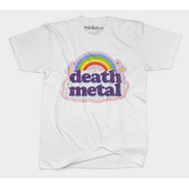 Minko. Death Metal Rainbow. Playera Excelente Calidad
