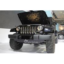 Jeep Wrangler Faros Led Edicion Especial Dragon Importados