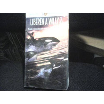 Pelicula Vhs Liberen A Willy, Free Willy 2, Nueva Y Sellada