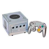 Game Cube Plateado Y Trilogia De Prince Of Persia.