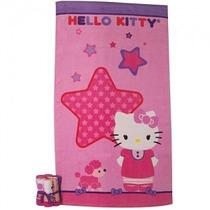 Sanrio Hello Kitty Juego Toalla De Baño Y Paños