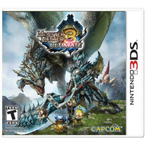 ..:: Monster Hunter 3 Ultimate ::.. Para 3ds