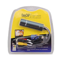 Easycap Adaptador Usb De Video Y Audio Rca S-video Windows 7