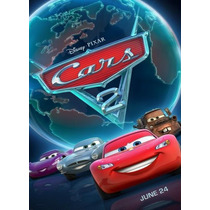 Dvd Carros 2 ( Cars 2 ) Disney Pixar - John Lasseter