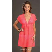 Pareo Unitalla Tipo Vestido - Marina West Ns009 Neon Peach