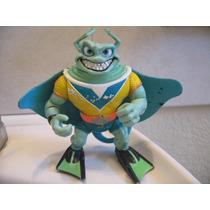 1990 Mirage Studios Playmates Toys Ray Fillet Tortugas Ninja