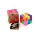 Cubebot Cubo De Madera Con Forma De Robot Grande