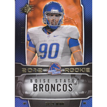 2012 Spx Rookie Billy Winn 749/750 Dt Boise State Browns