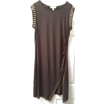 Vestido Michael Kors Talla Xl Color Chocolate. 100% Original
