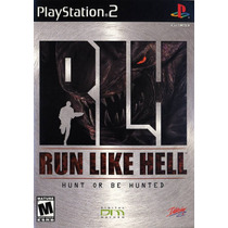 Run Like Hell Hunt Or Be Hunted (tipo Alien) Ps2*