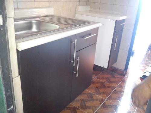Mueble para fregadero con tarja para cocina integral for Fregadero precio
