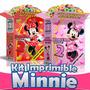 Gran Kit Imprimible Minnie Mouse 100% Editable, Fiesta Niñas