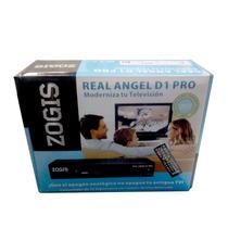 Sintonizador Tv Analog A Digital Zogis Real Angel D1 Pro Caj