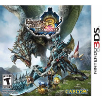 Monster Hunter Ultimate Nintendo 3ds