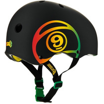 Casco Skate, Bici, Patines - Sector 9 Logic Negro Smd-lxl