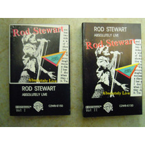 Rod Stewart Casette Doble Absolutely Live 1 Y 2