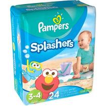 Pantalones Pampers Splashers Desechables De Natación (elija