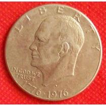 1 Dollar 1976 Moneda Estados Unidos Usa Bicentenario - Hm4