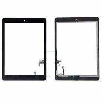 Touch + Cristal Ipad Air, Ipad 5 + Home + Pegamentos.