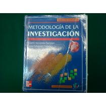 Roberto Hernández Sampieri, Metodología De La Investigación