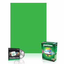 Pantalla Verde Westcott Green Screen Digital Photography Kit