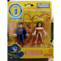 Imaginext Dc Superfriends Superman Y Mujer Maravilla