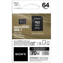 Sony Microsd 64gb Micro Sd Sdxc Memoria C. 10 Xperia