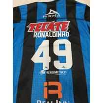 Queretaro Ronaldinho Jersey Adulto Talla 2xl Reducida A Xl